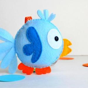 Felt Bird Sewing pattern - PDF ePAT..