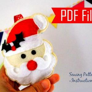 DIY Santa Claus Sewing pattern - PD..